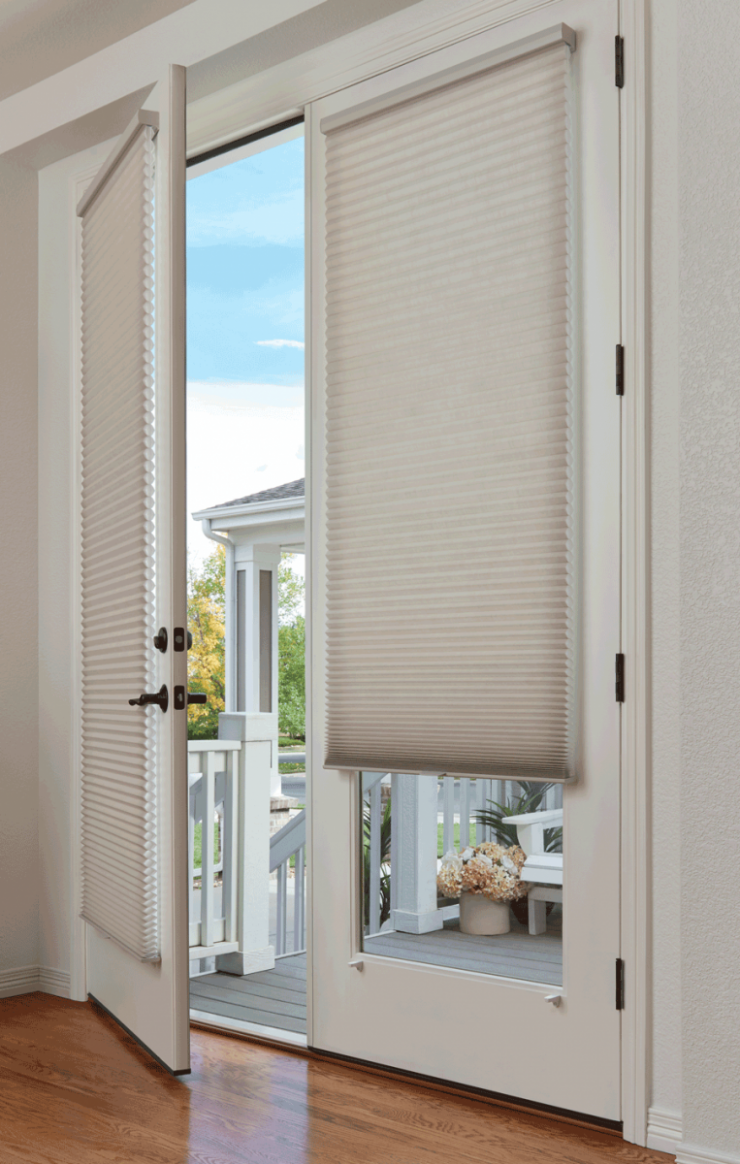 Style + Function with Glass Door Window Treatments - Janovic