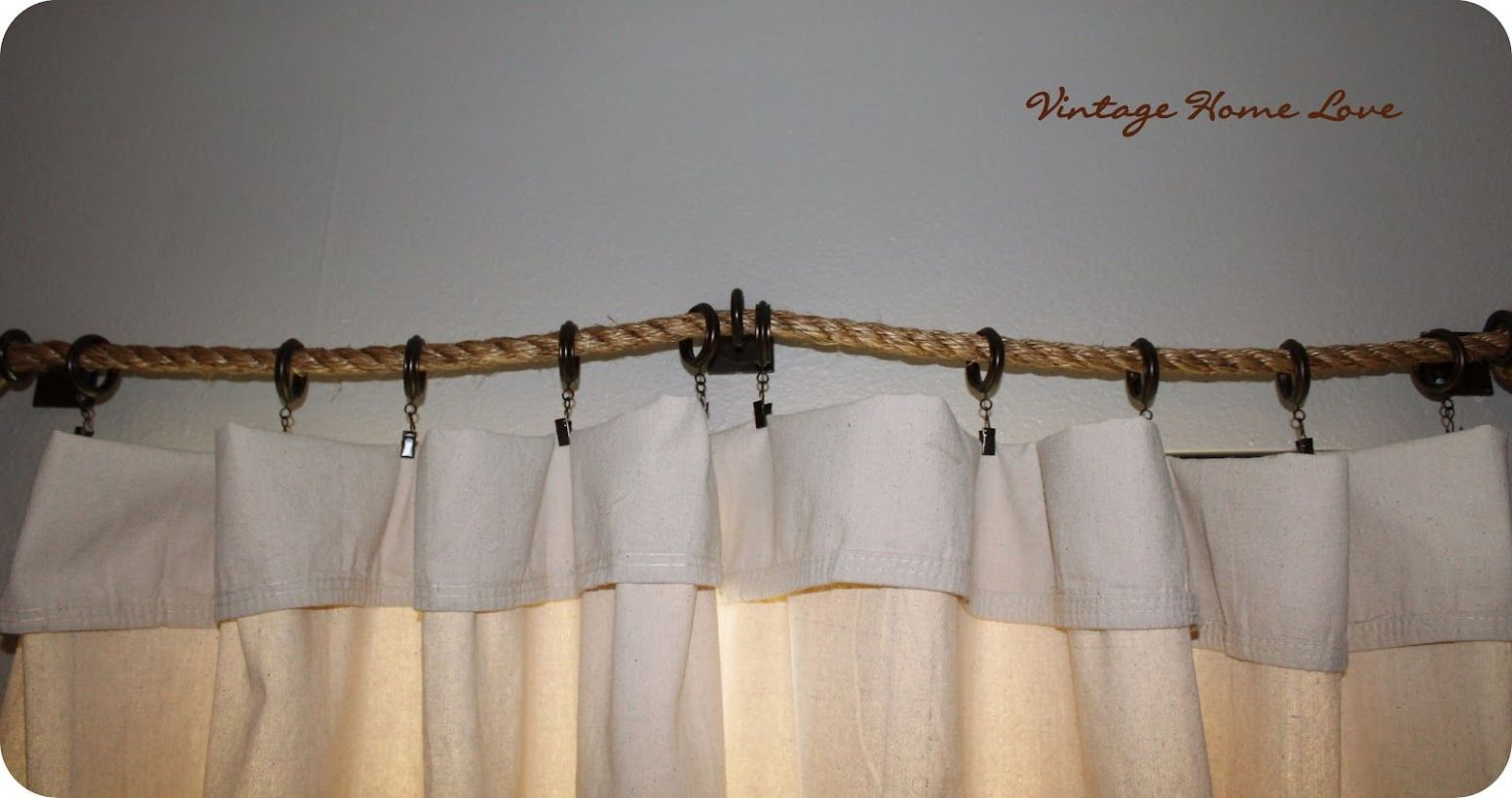 Stylish DIY Curtain Rods Ideas On Budget (With images) | Diy ..