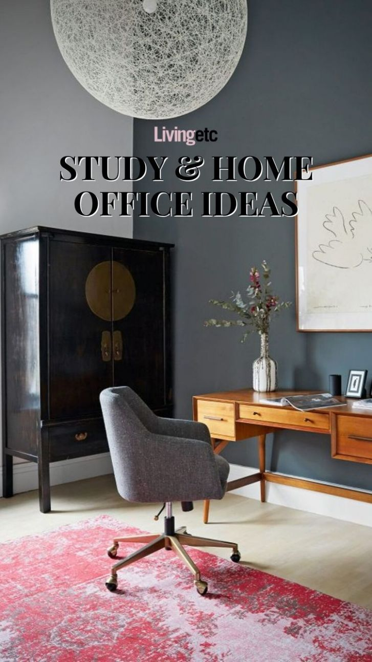 Stylish study and home office ideas | Livingetc | Home office ..