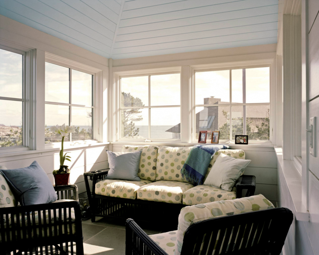 Sunroom Design Trends and Tips - Freshome - sunroom tv ideas
