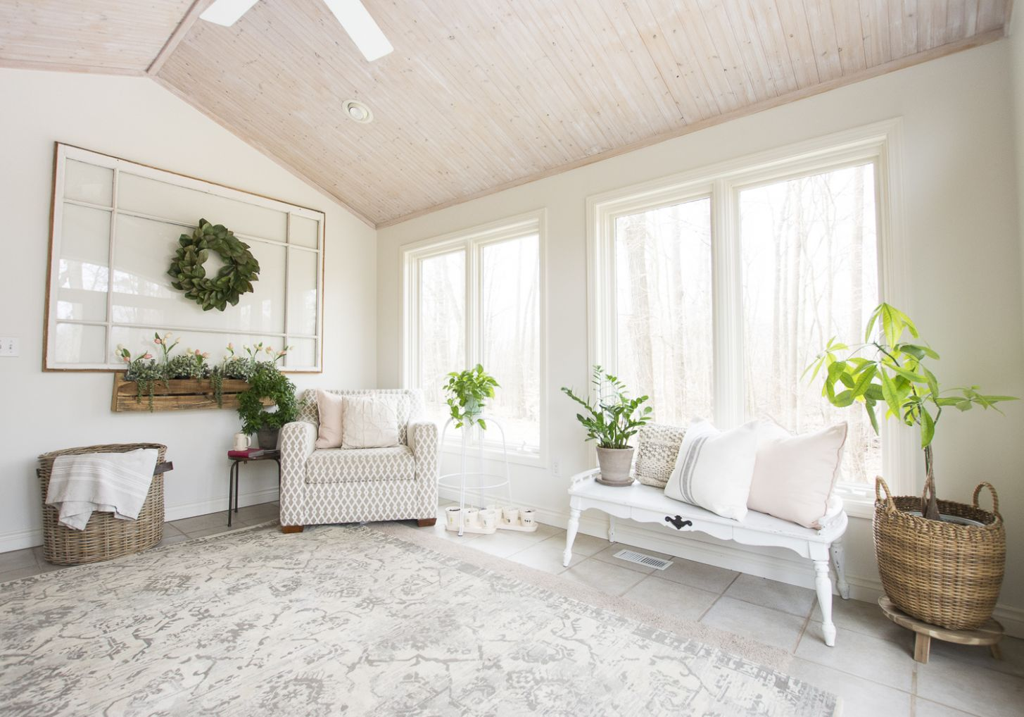 Sunroom Office Inspiration: A Dual Purpose Paradise | Grace In My ..