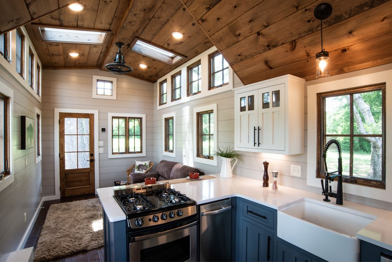 Super Spacious 11-Foot Tiny Home on Wheels... The Denali XL by ...