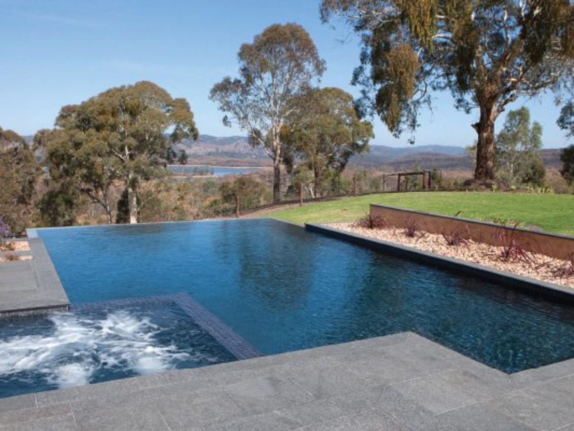 Swimming Pool Designs For A Slopped Backyard