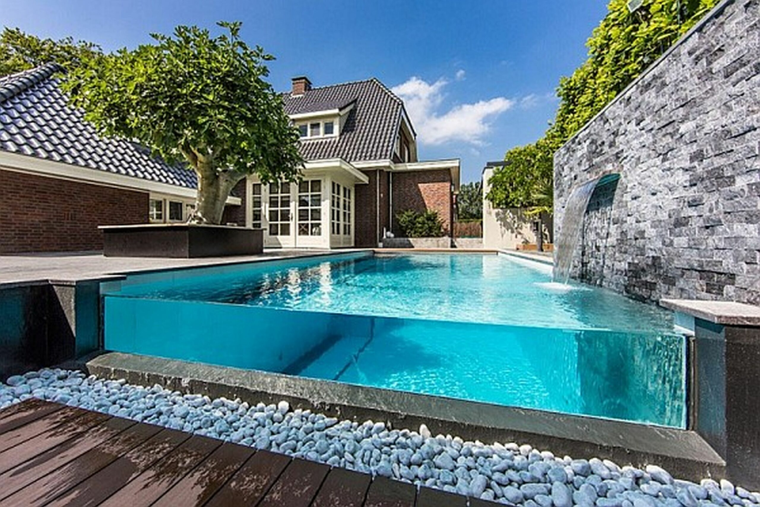 Swimming Pool Houses Designs Home Design Ideas With Pic Of Luxury ..