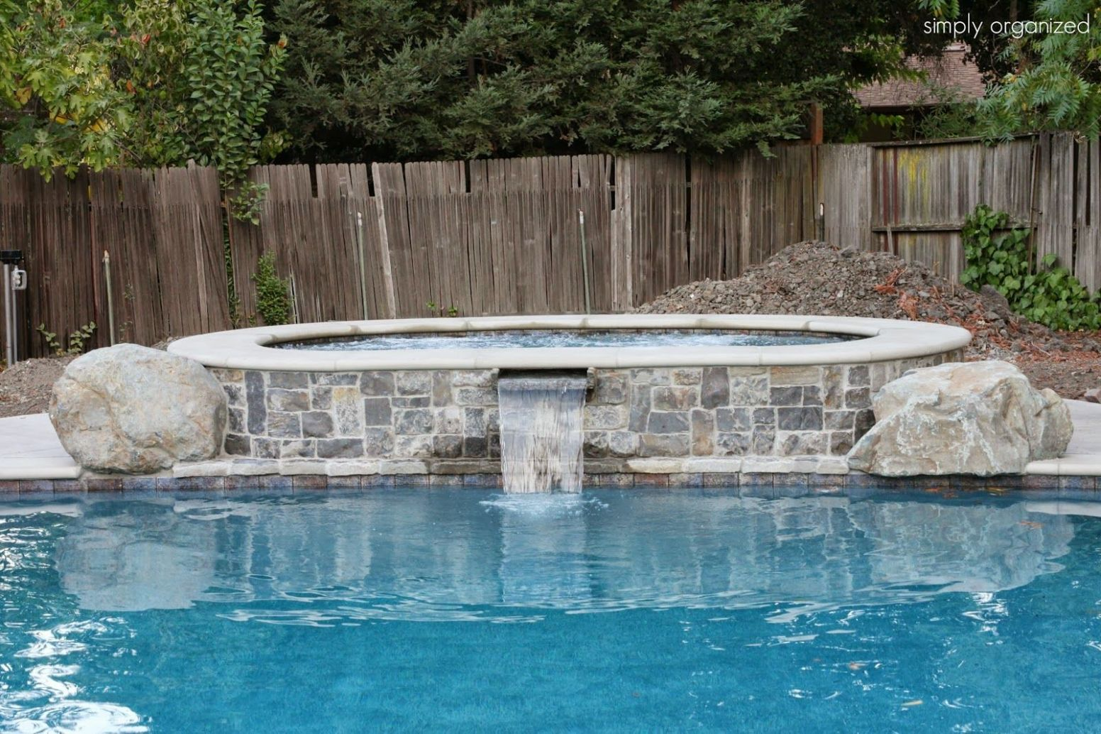 Swimming Pool Update - It's done | Swimming pools, Concrete pool ...