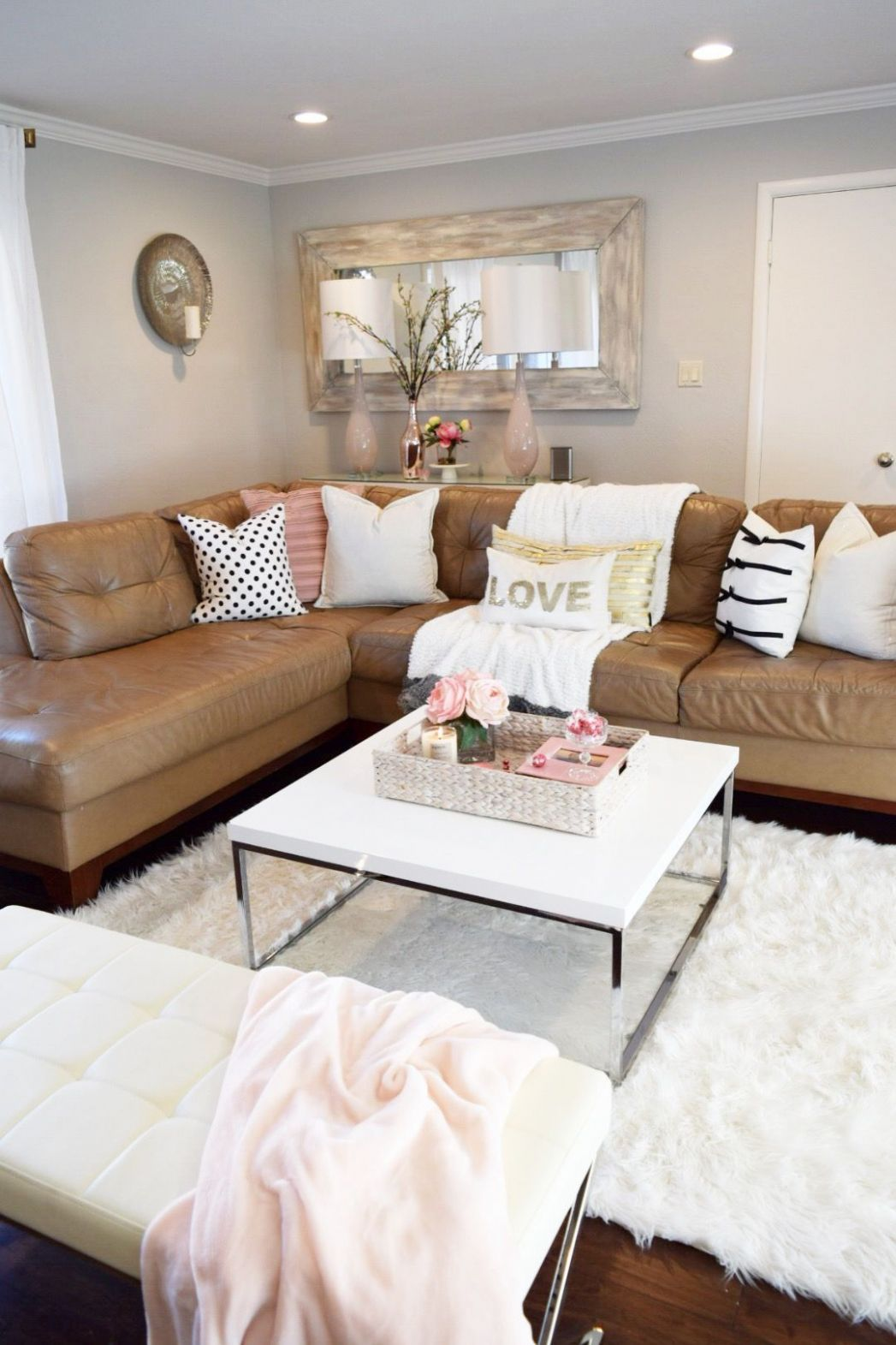 Tan Couch Living Room Ideas in 11 (With images) | Tan couch ..