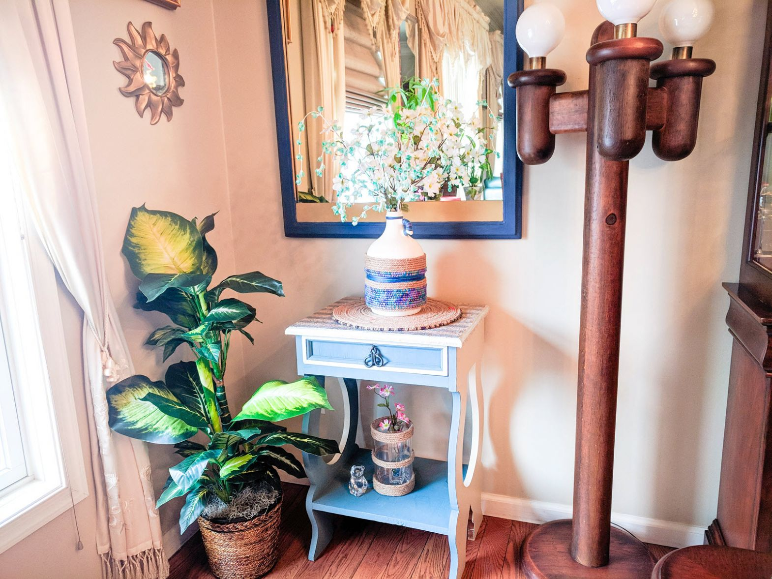 The Art Of Decorating With Artificial Plants - Easy Carfree Decor ...