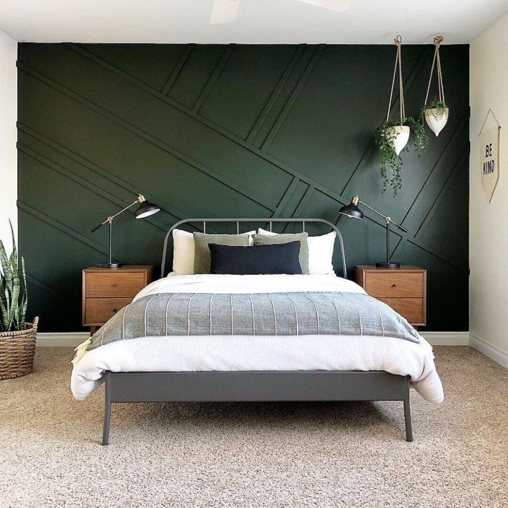 The Best Dark Green Paint Colors To Use in Your Home! | Bedroom ..