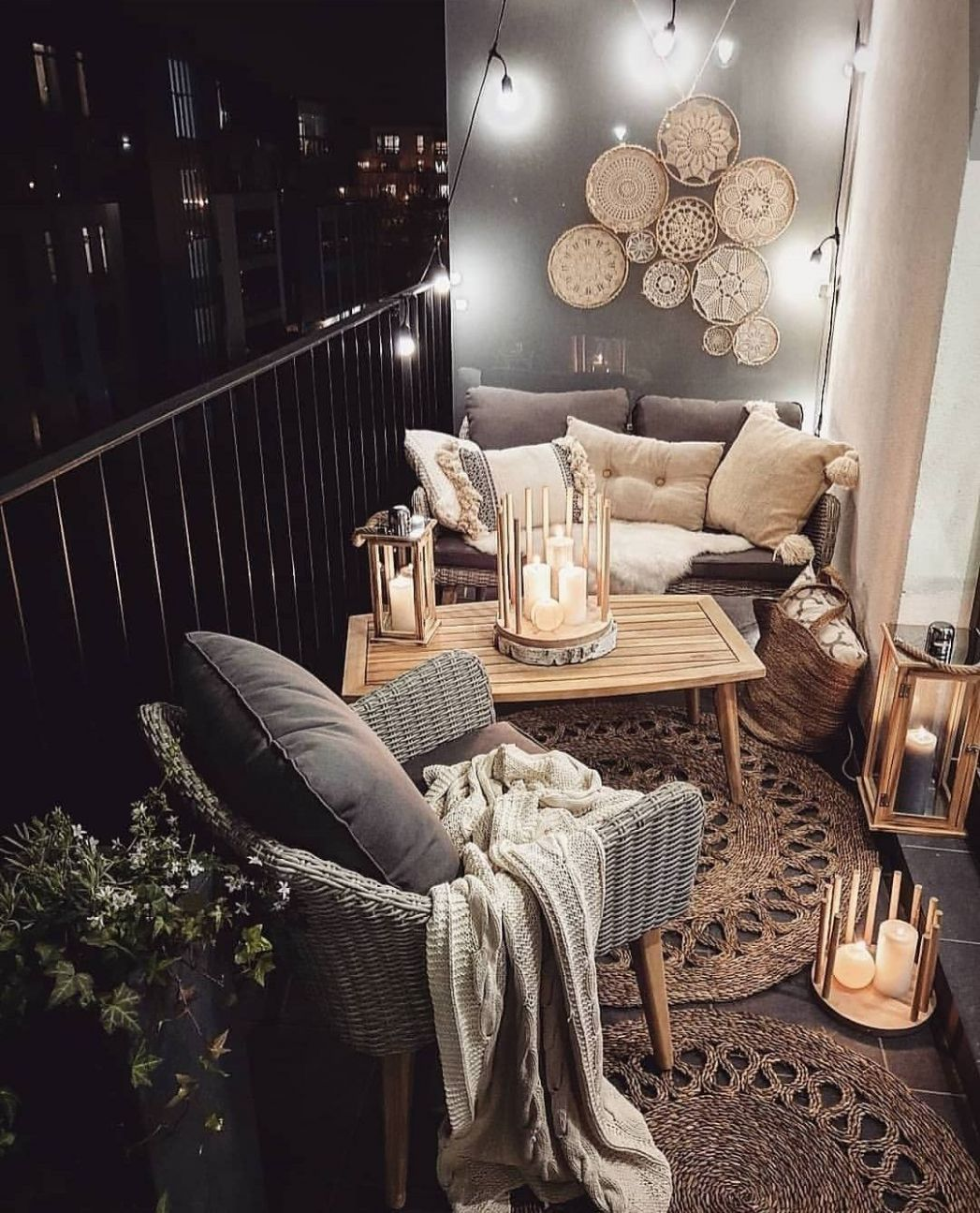 The Best Decorated Small Outdoor Balconies on Pinterest | First ...