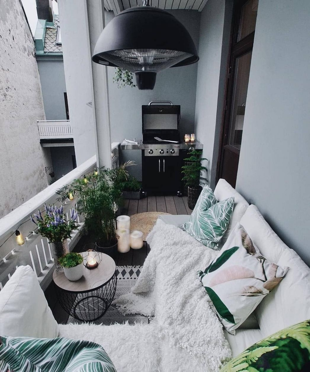 The Best Decorated Small Outdoor Balconies on Pinterest | Small ..