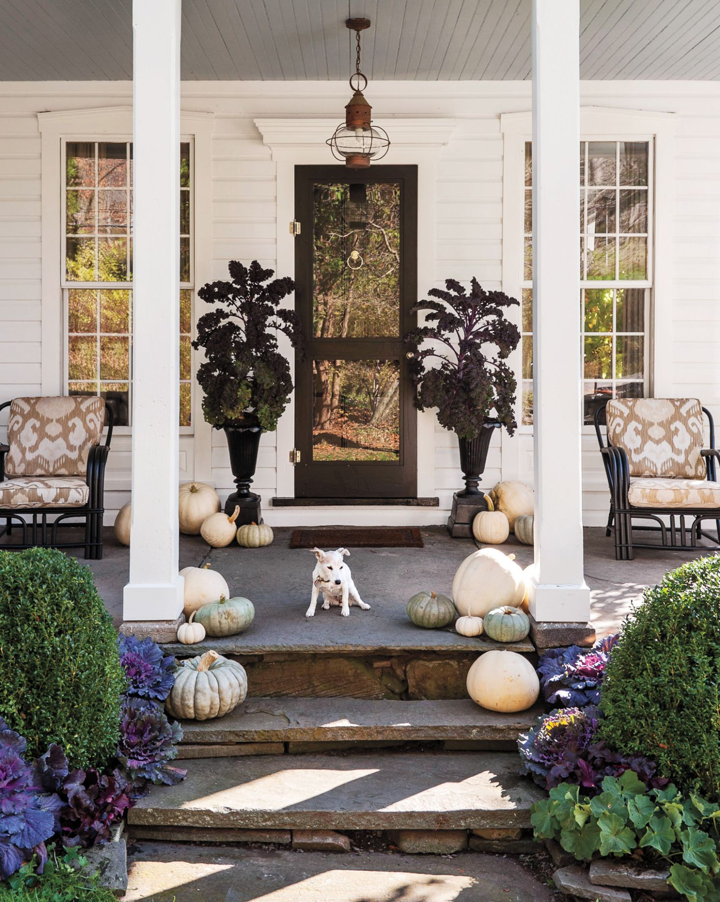 The Best Front Porch Decorating Ideas for Every Month of the Year ... - front porch ideas
