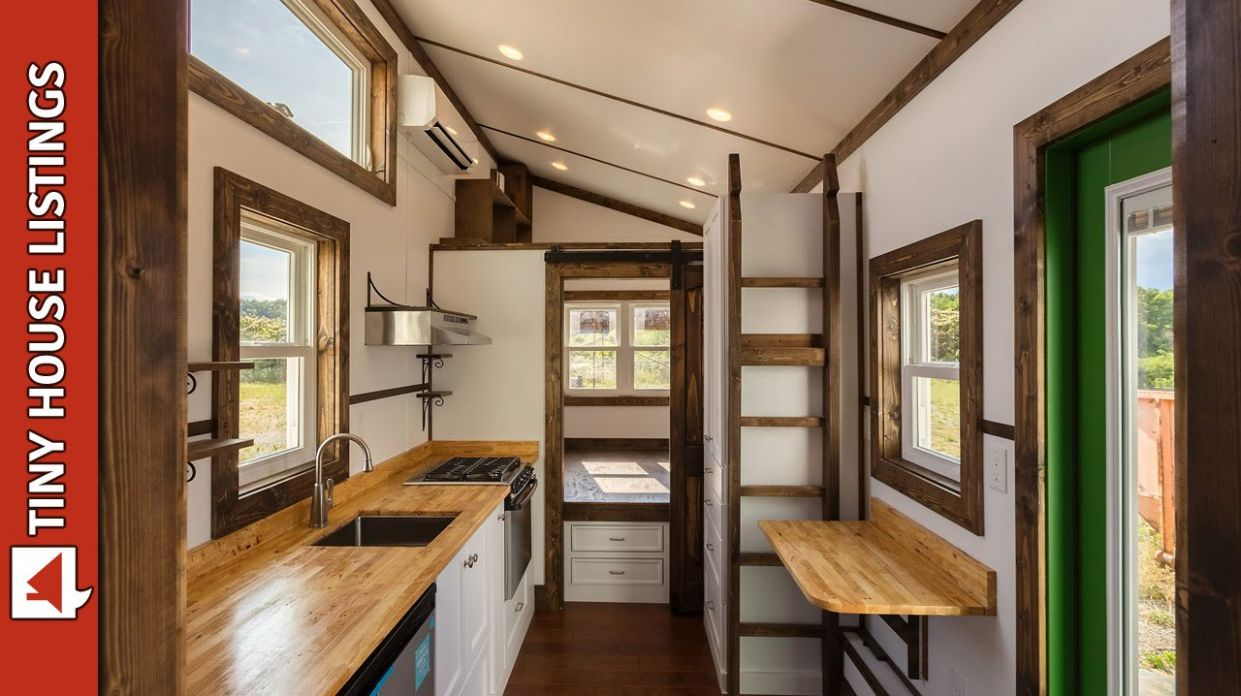 The Borough Tiny House Build by Tiny House Chattanooga