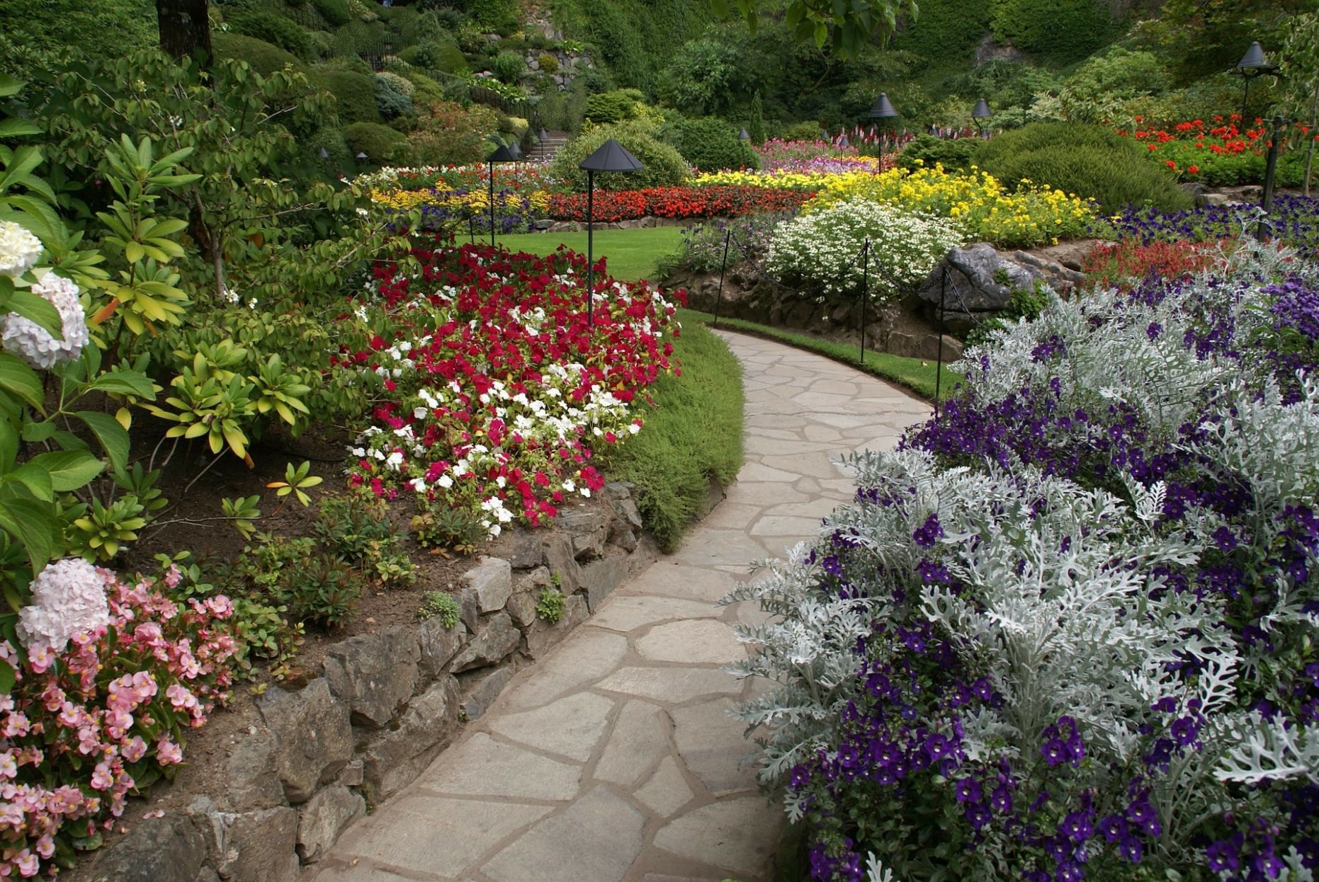 The Butchart Gardens is a Top Attraction in Victoria, BC Canada