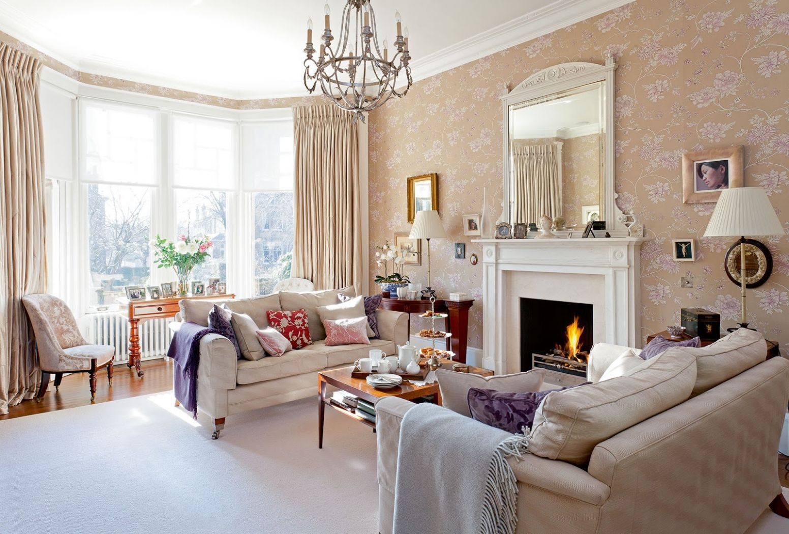 The Edwardian Period Interiors - Comfortable home - living room ideas edwardian house