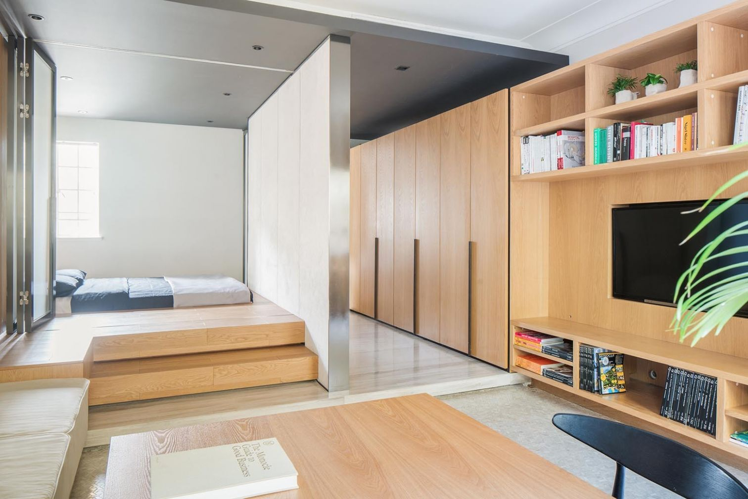The Folded Apartment / More Design Office | ArchDaily - apartment office design