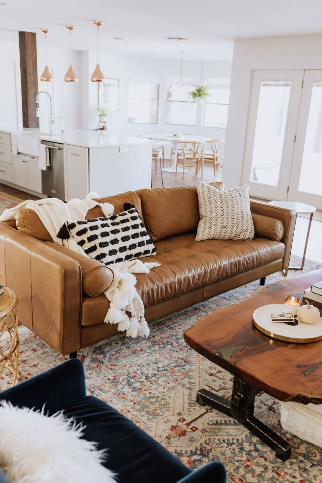 the ldl home: our living room reveal | Living room decor brown ..