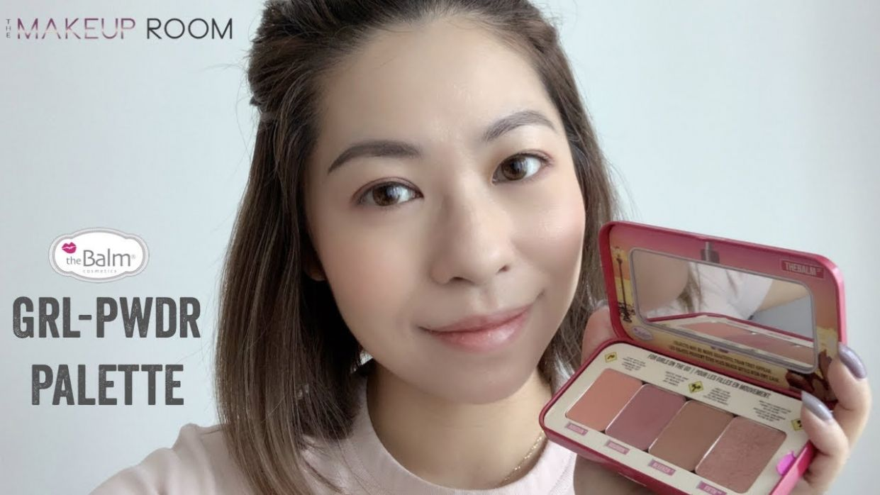 [The Makeup Room] theBalm GRL PWDR Palette Review