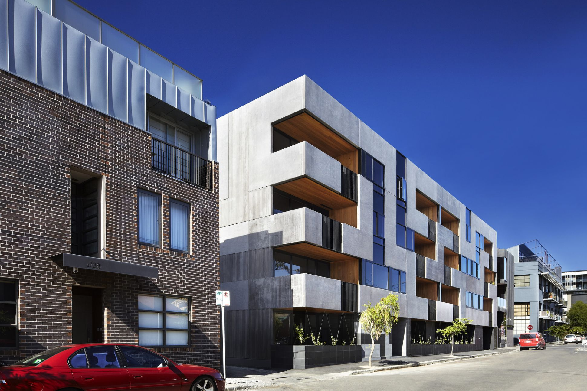 The Maze Apartments / CHT Architects | ArchDaily