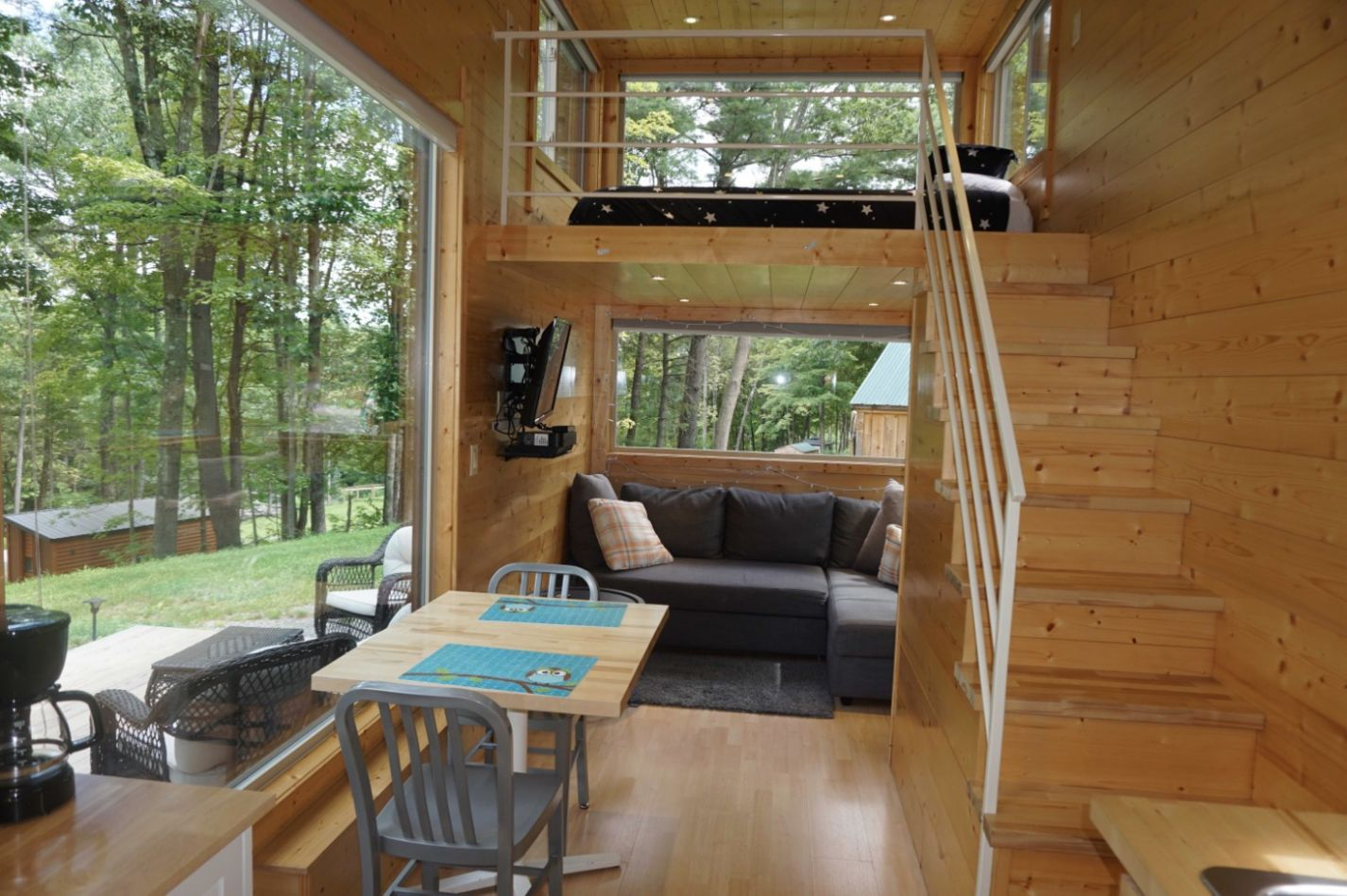 The Oki Tiny House in the Catskills Two Hours from NYC - tiny house resort
