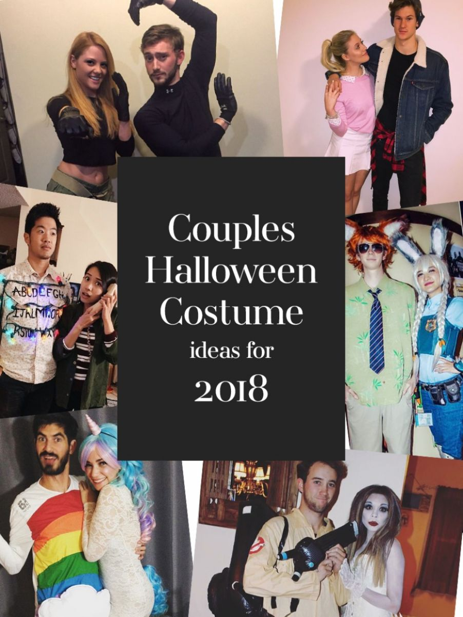 The Perfect Couples Halloween Costume Ideas For 10 - halloween ideas couples 2018