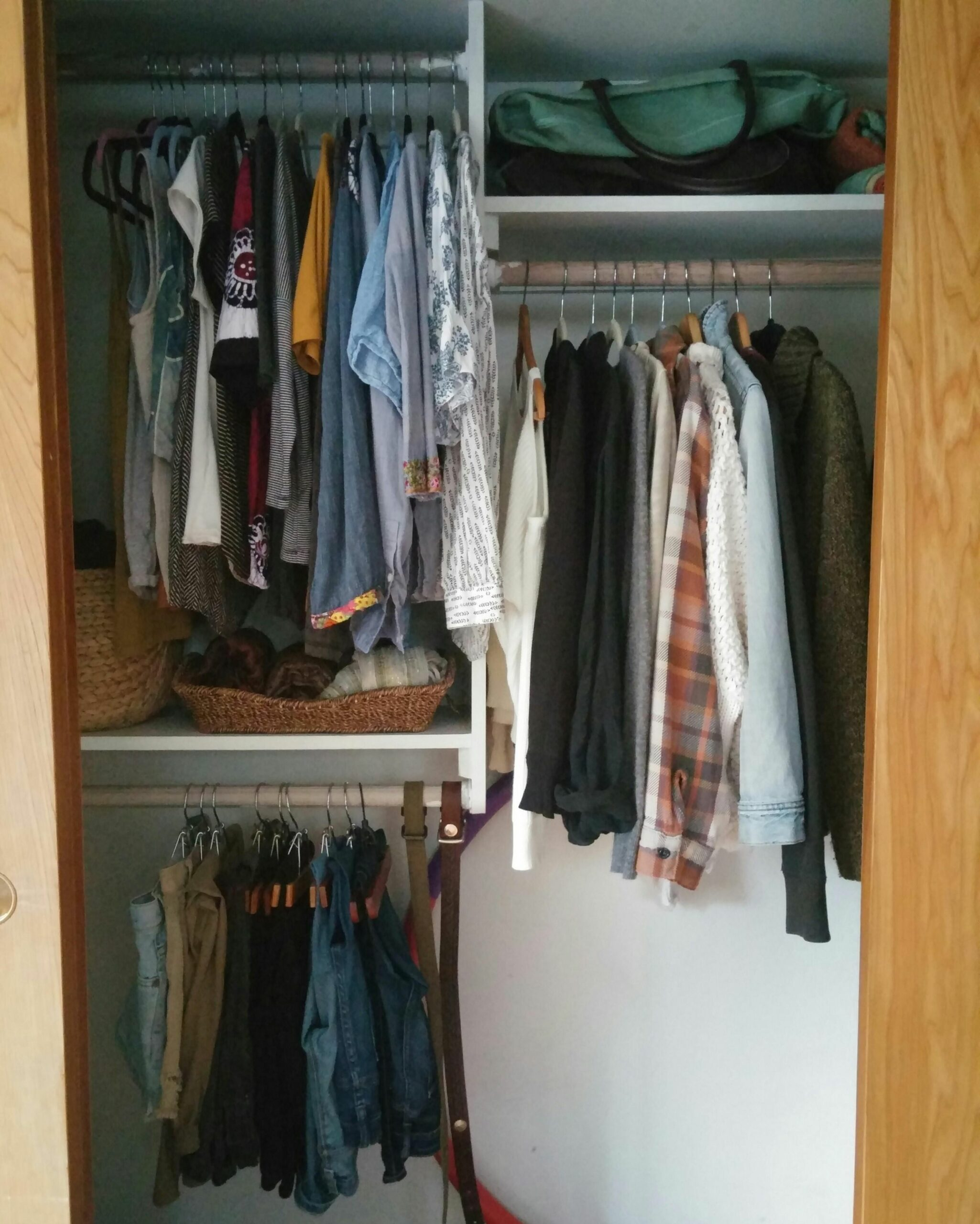 The process of minimizing my closet has been one of the biggest ...