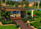 The Sims 11 Tiny Living: How to build a functional one tile bathroom