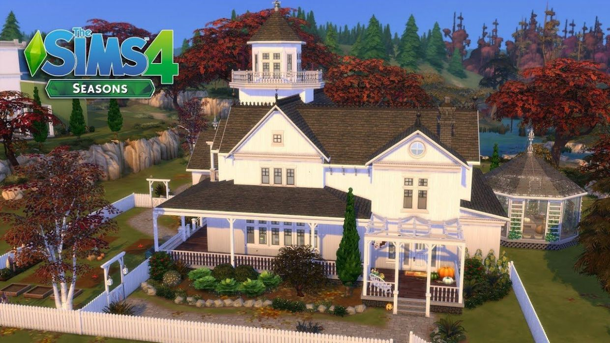 The Sims 11212 - Practical Magic - Witch Family House! 112/12 (House ...