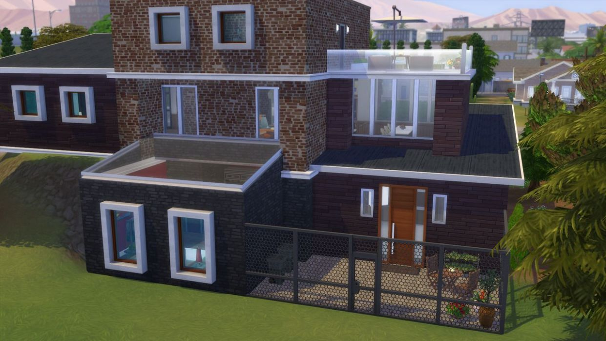The Sims 12 Get Famous House Inspo (With images) | Sims 12 house ...