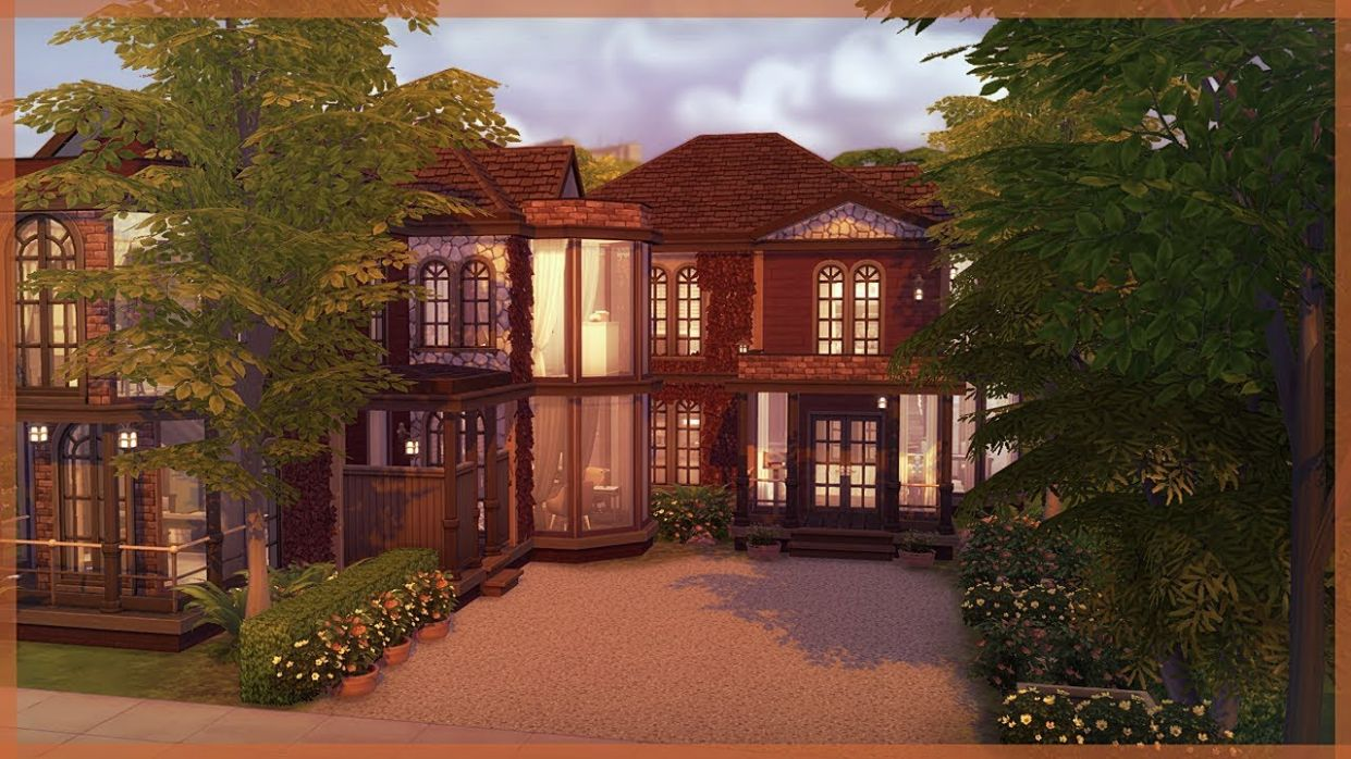 The Sims 12 House Build | Autumn Inspired Home | Raven Grove