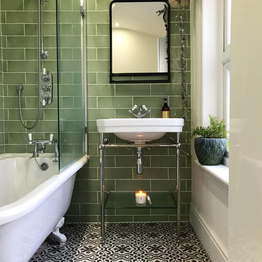 "The Victorian Terrace on Instagram: ""Rejoice for the bathroom has .."