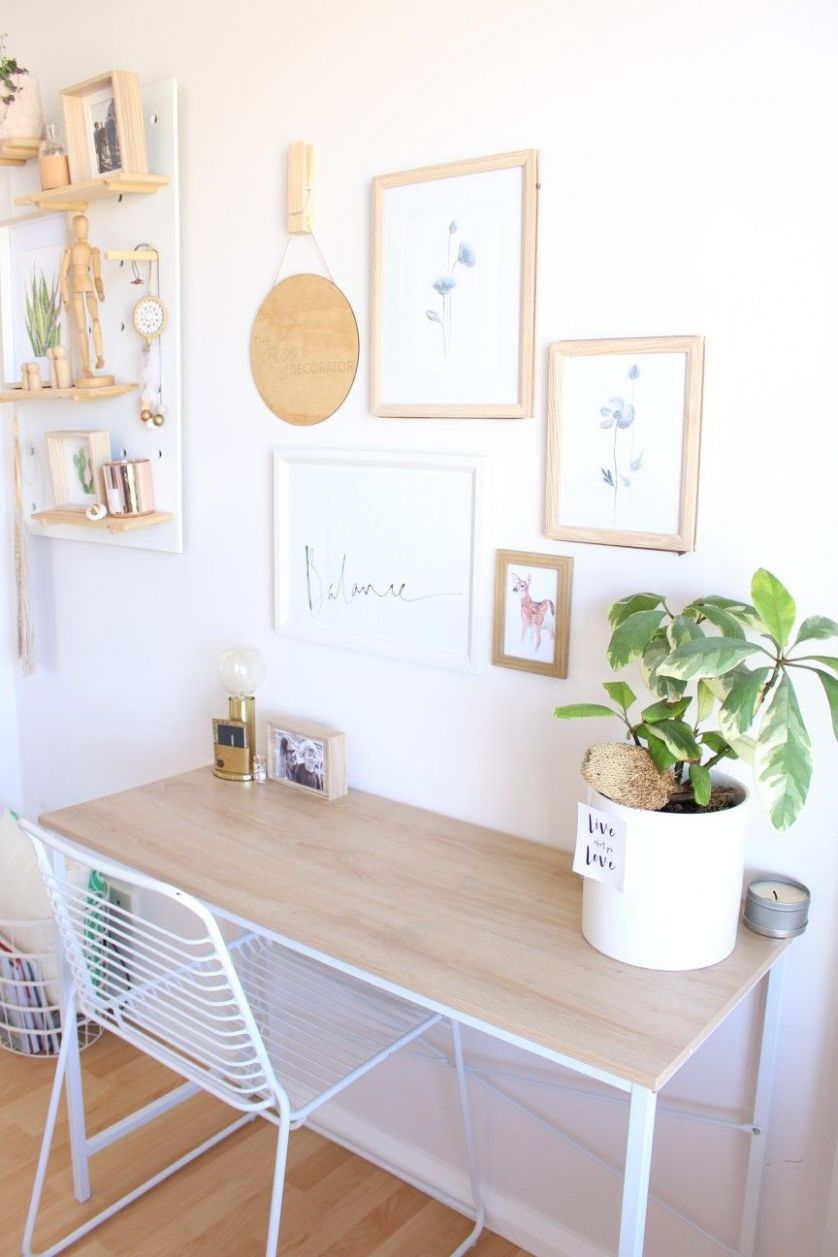thediydecorator Kmart styling home office | Study decor, Home decor