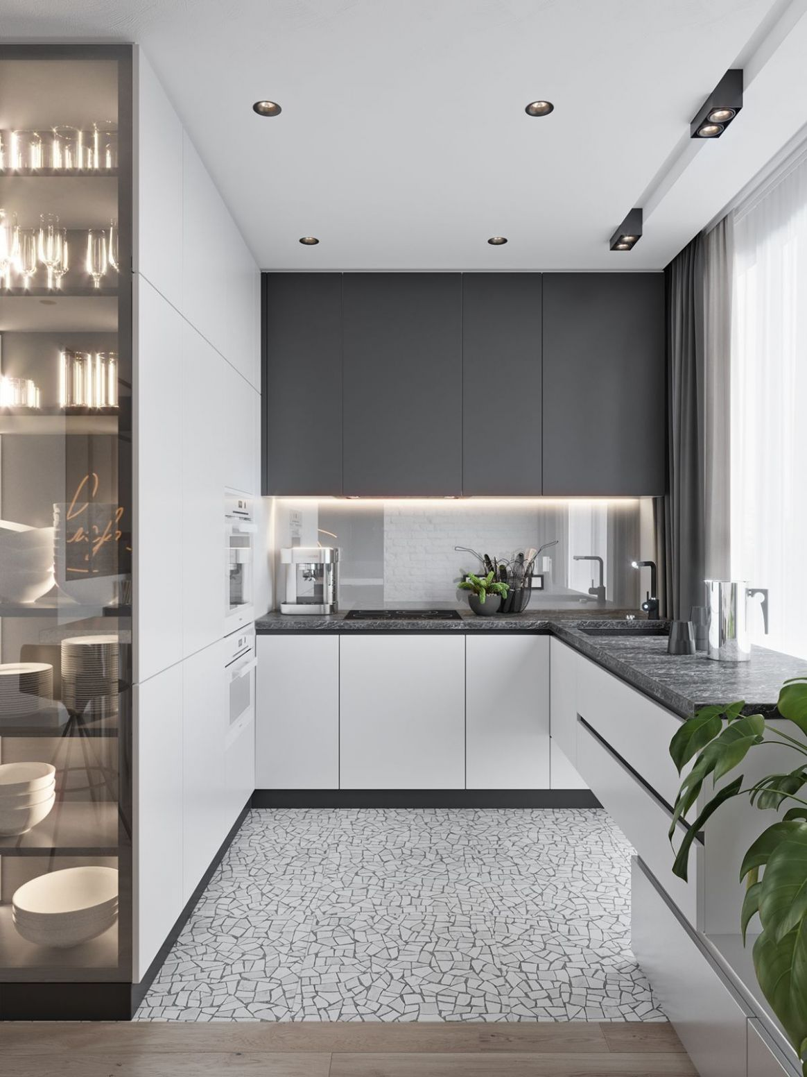 These minimalist kitchen ideas are equal components calm and ..