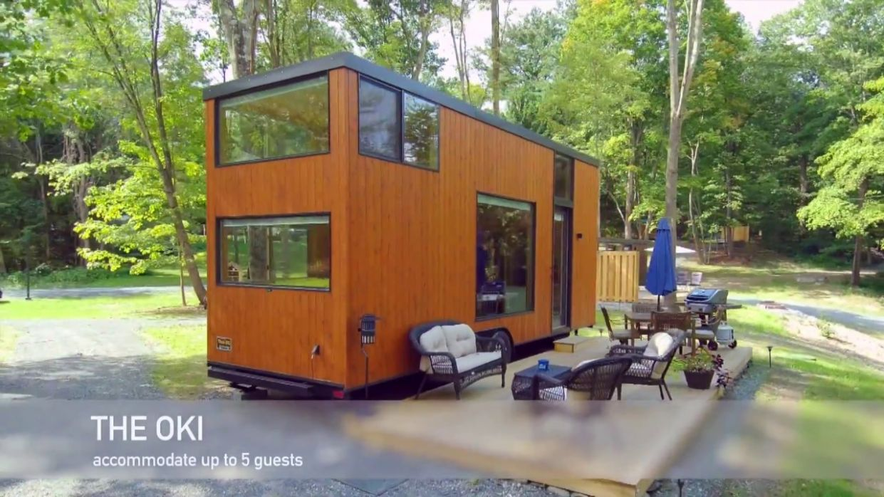 Think Big a Tiny House Resort, Drone Footage by BBP