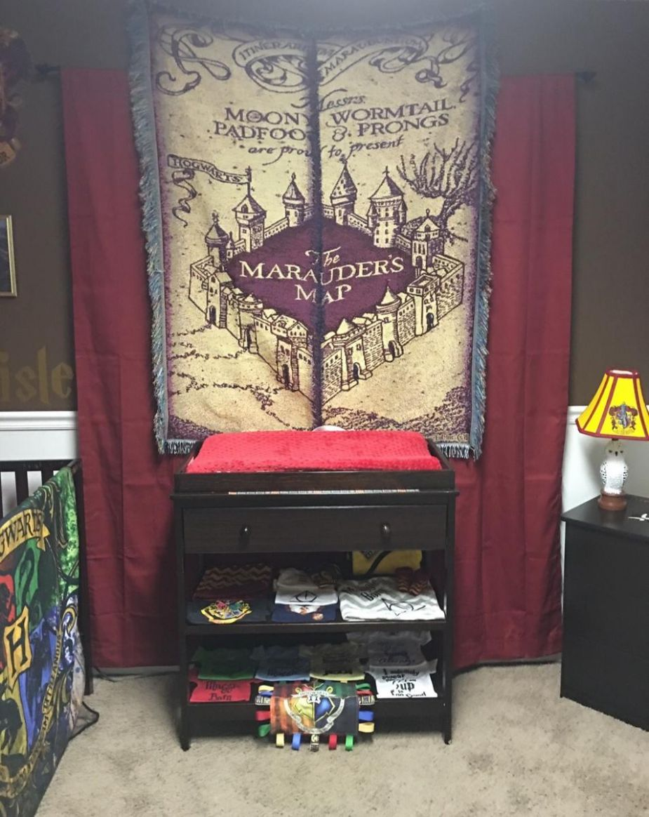 This Harry Potter-Themed Nursery Will Amaze You | Parents