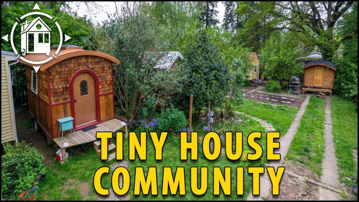 This Tiny House Community is Located in Portland, Oregon! - tiny house portland