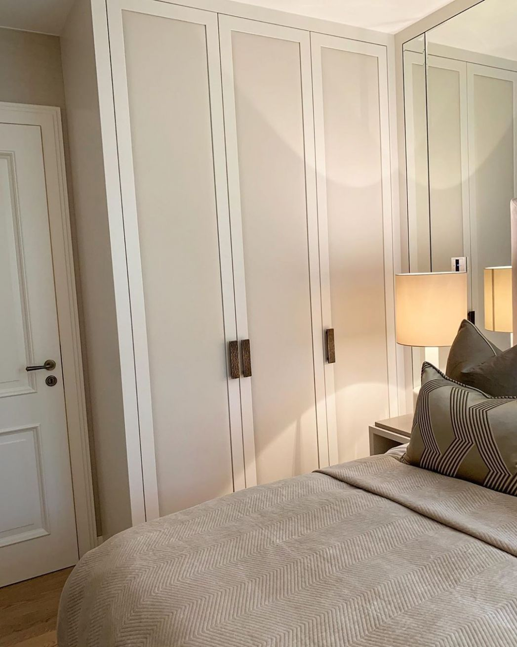 """Thomas May Bespoke on Instagram: """"Guest bedroom wardrobes with .."""