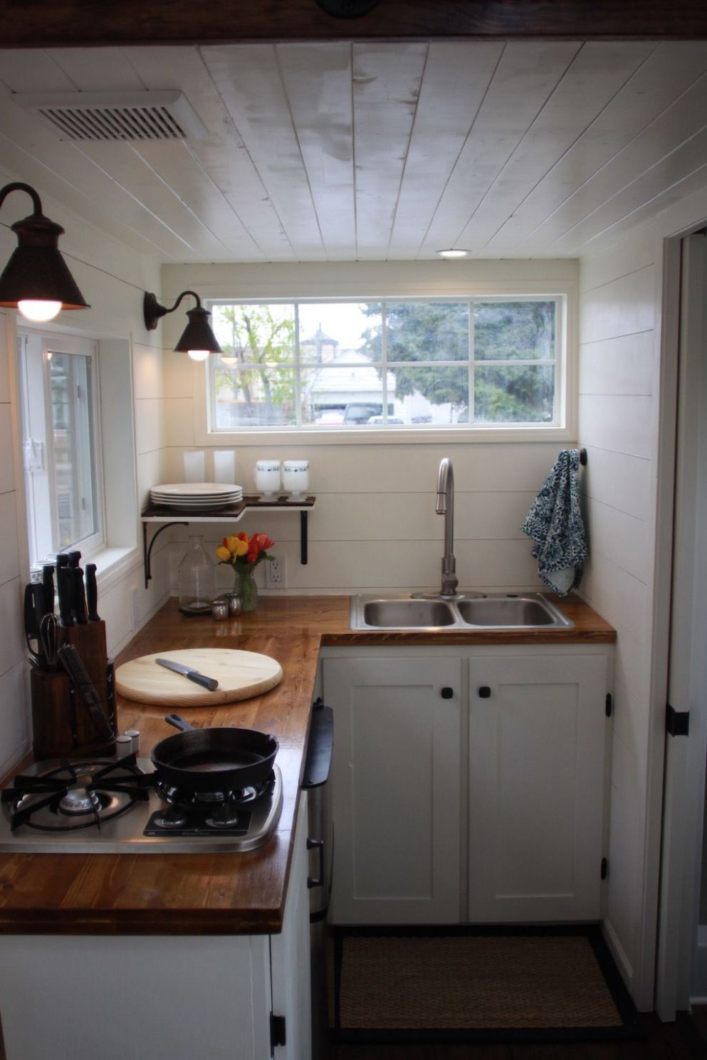 Thompson Tiny House | Tiny house kitchen, Kitchen remodel small ...