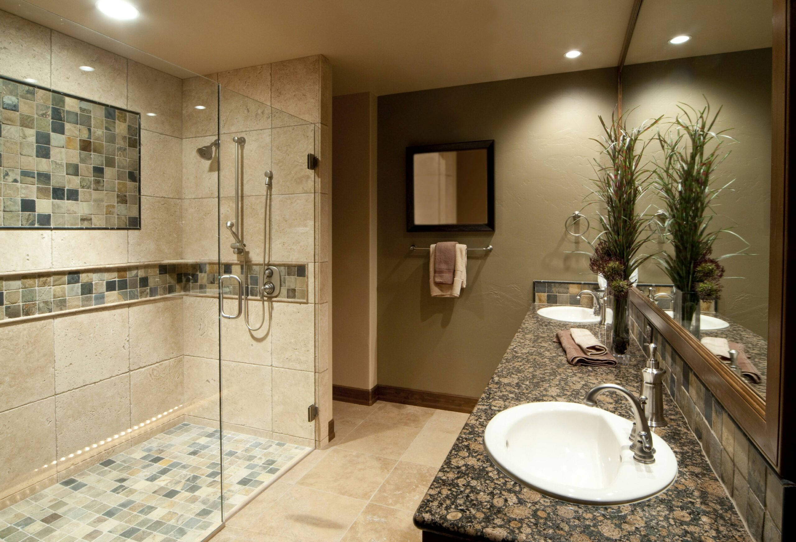 Tile Shower Designs for Favorite Bathroom - Traba Homes - bathroom ideas large shower