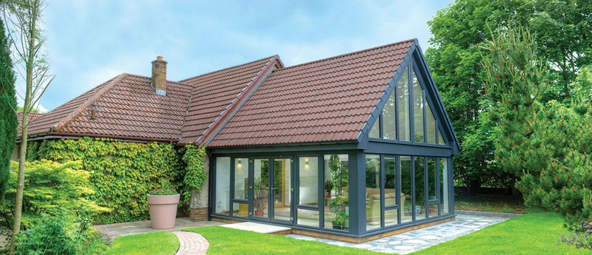 Tiled Sunrooms Conservatories - Tiled Roof Conservatories   CR Smith - sunroom ideas scotland