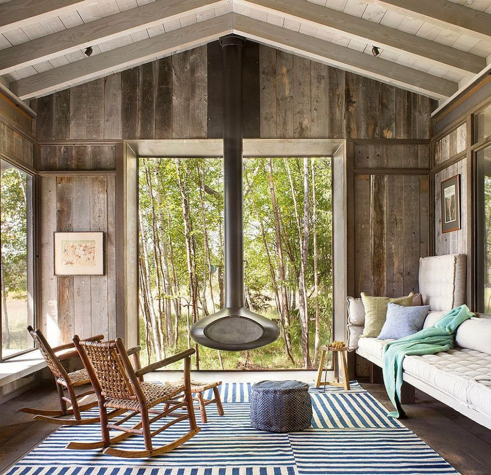 Timeless Allure: 9 Cozy and Creative Rustic Sunrooms | Rustic ..