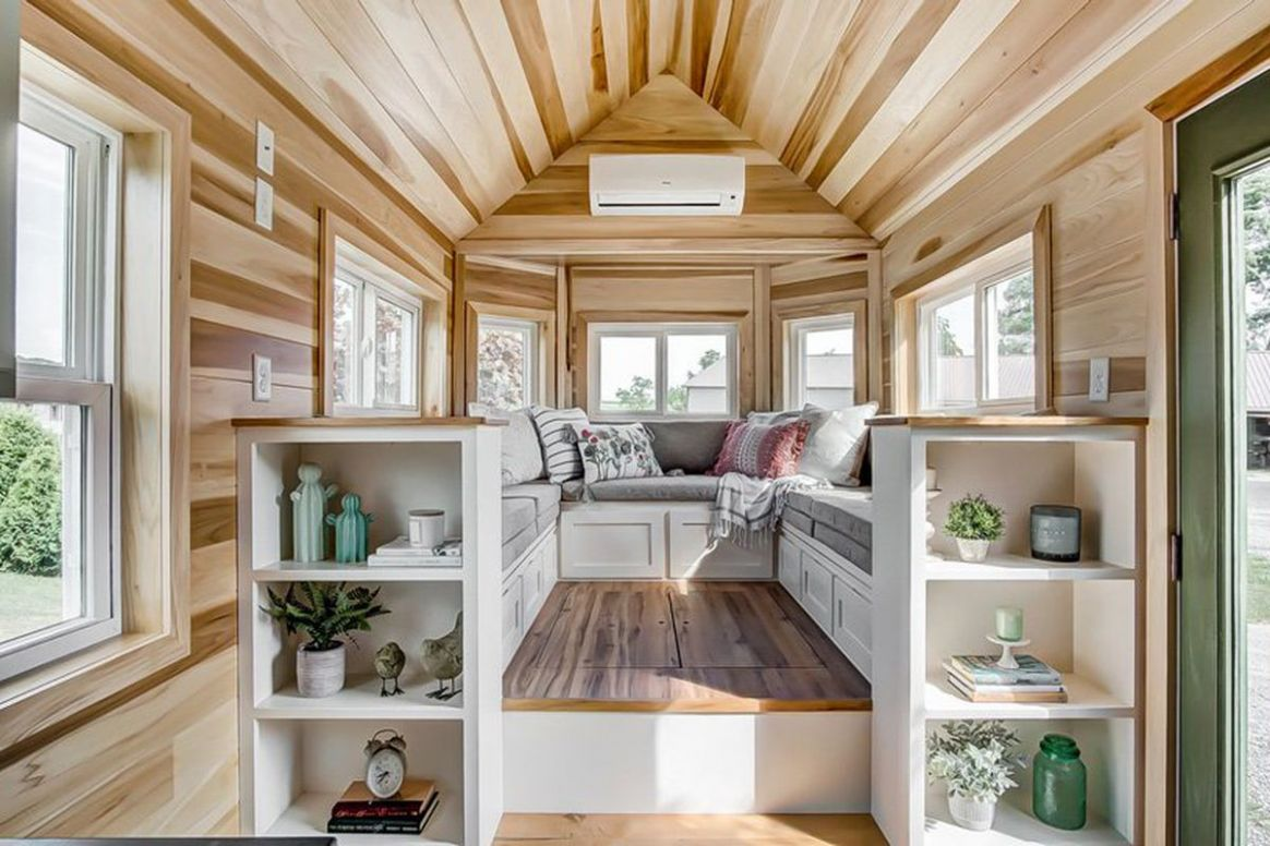 Tiny house comes with a conversation pit, sort of - Curbed