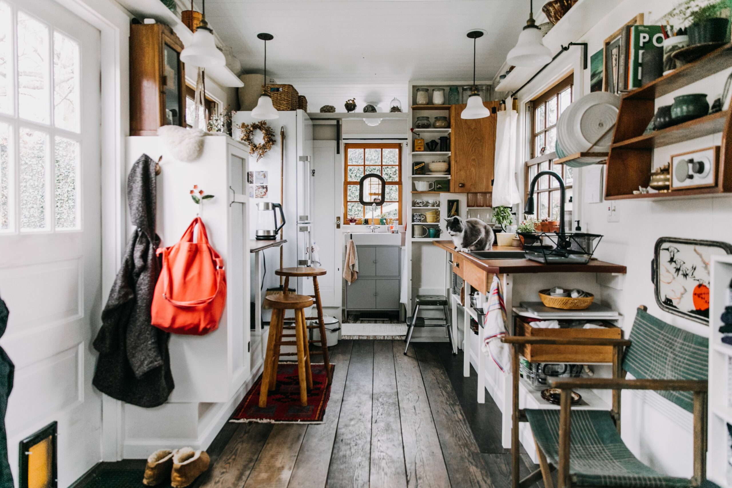 Tiny House Kitchens Decorating and Storage Ideas | Kitchn
