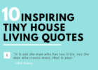 Tiny house living quotes | 8 Inspiring Tiny House Living Quotes