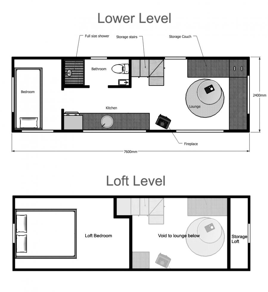 Tiny House Plans Suitable For A Family of 9!