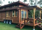 TINY TEMPLE HOME on Wheels by MandalaEcoHomes.com