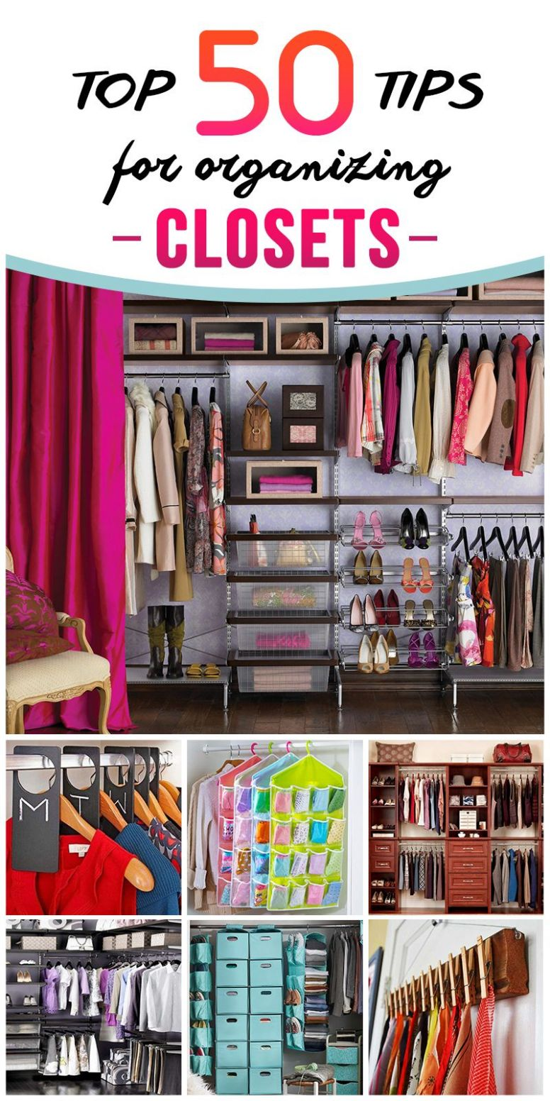 Tips And Organization Ideas For Your Closet | Best closet ...
