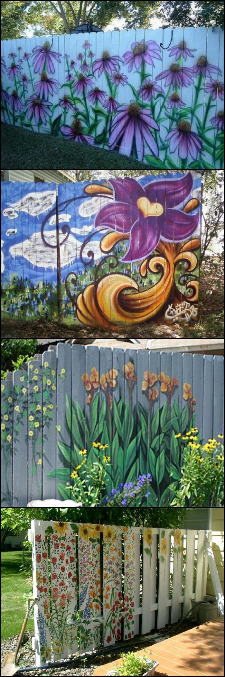 Tired of your old paling fence? Would any of these help? If you're ...
