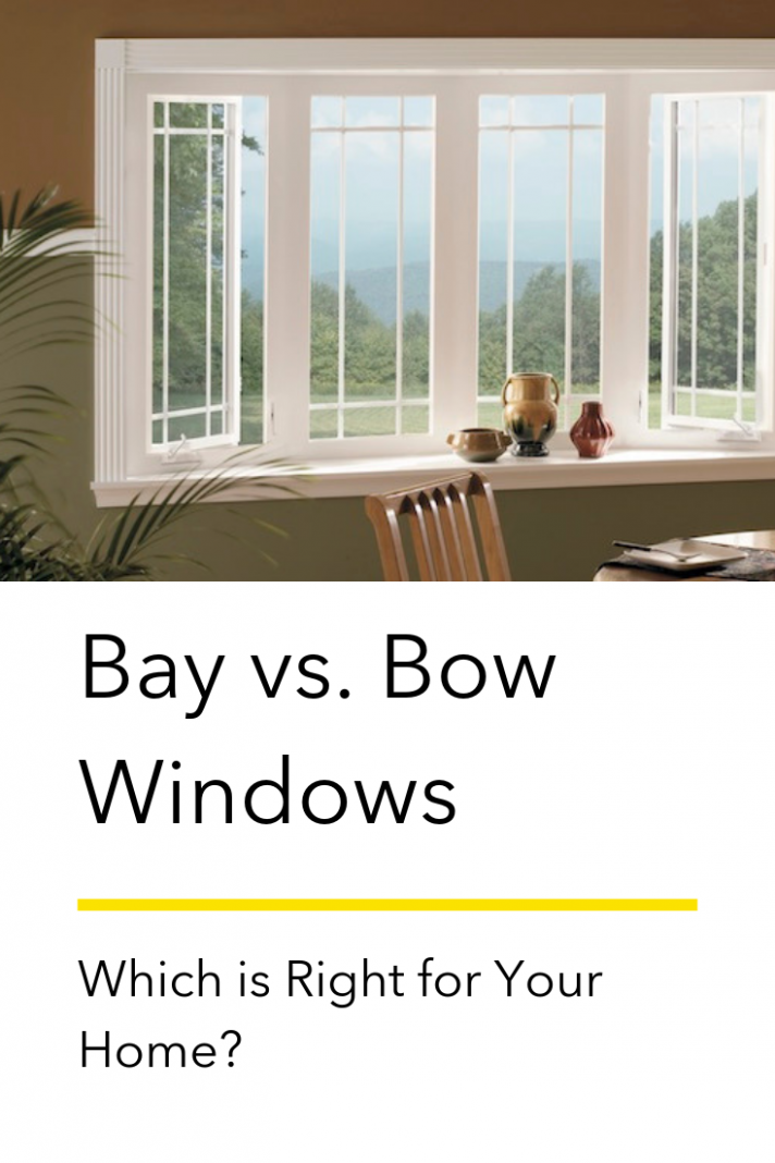 To the uninitiated, bay windows and bow windows are virtually ..