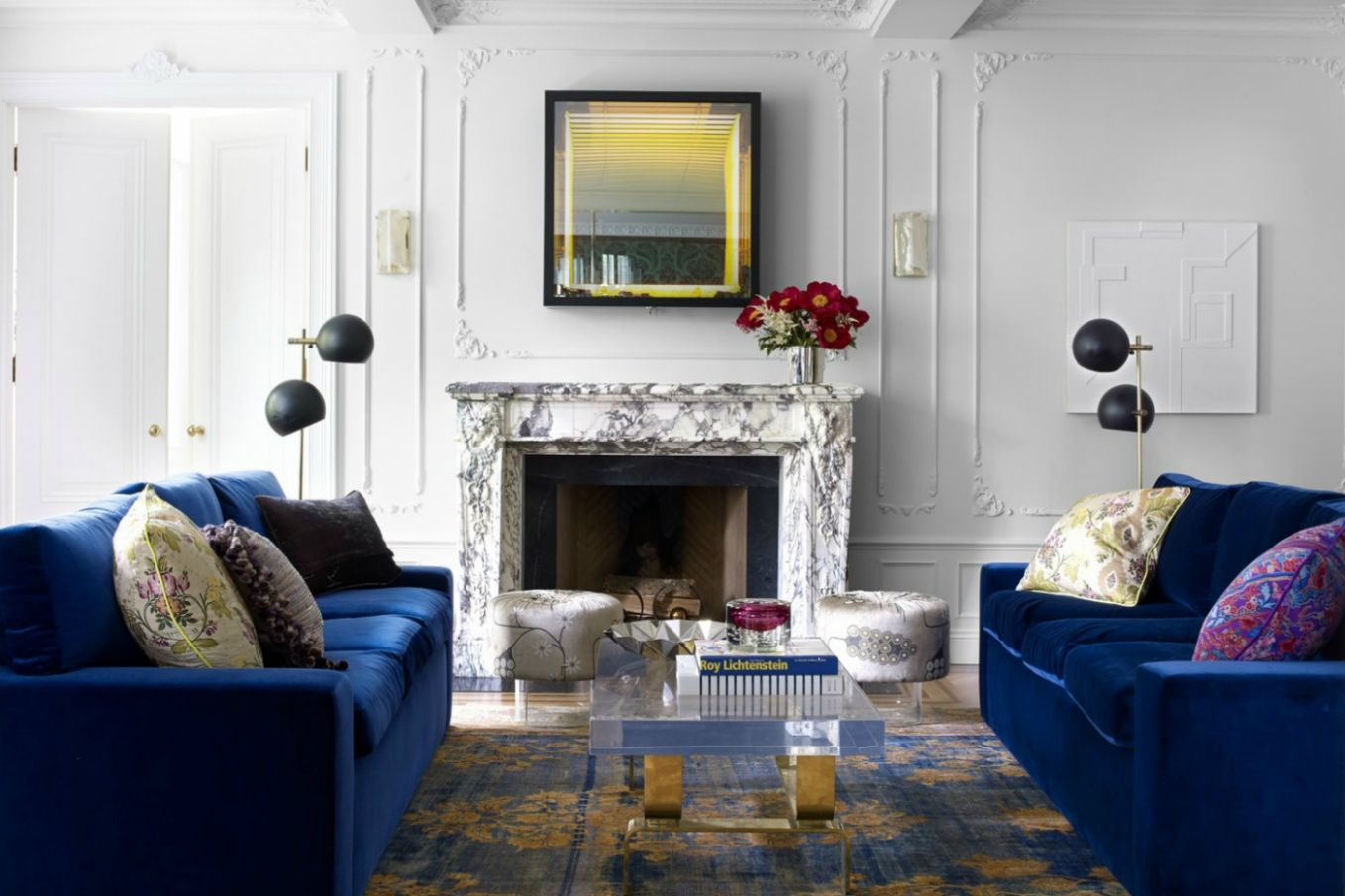Top 8 Blue Living Room Designs by Best Interior Designers - living room ideas in blue