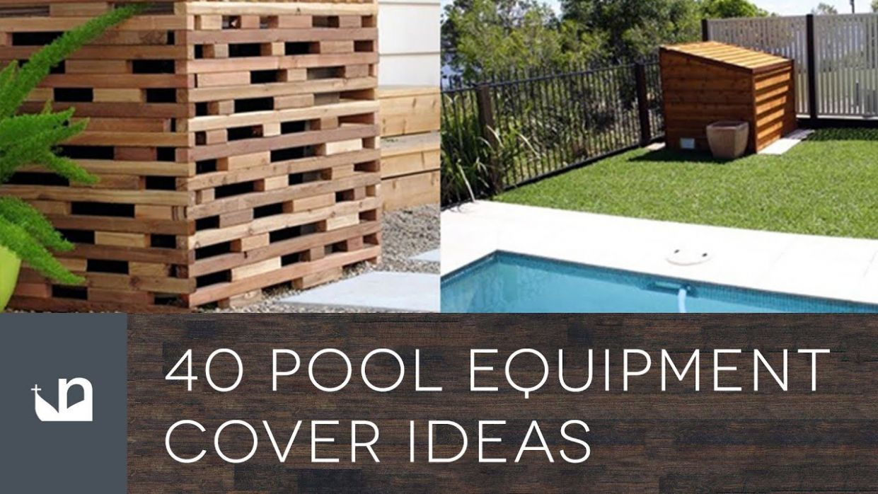 Top 9 Best Pool Equipment Cover Ideas - Concealed Designs